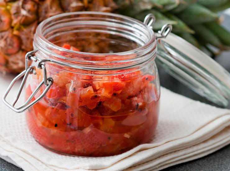 Чатни из помидоров с курагой