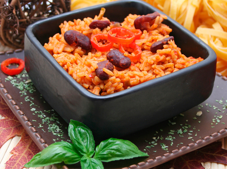 Рис с берегов Карибского моря