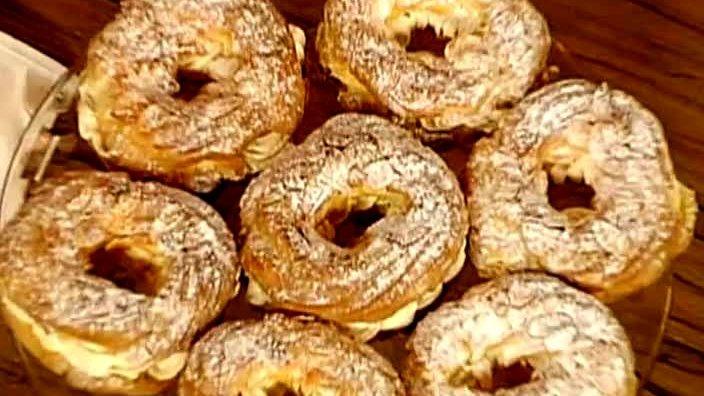 Пирожные «Пари-Брест»