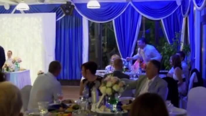 Какая свадьба без веселья?