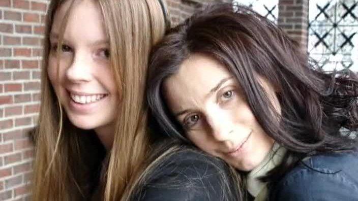 Екатерина Стриженова и ее дочь Настя Стриженова