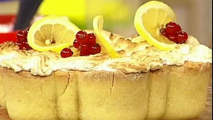 Итальянский лимонный торт