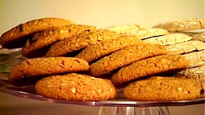 Миндальное и овсяное печенье