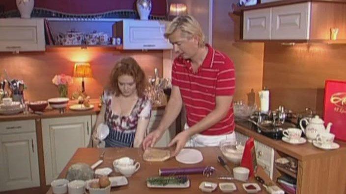 Сырное печенье с лавандой