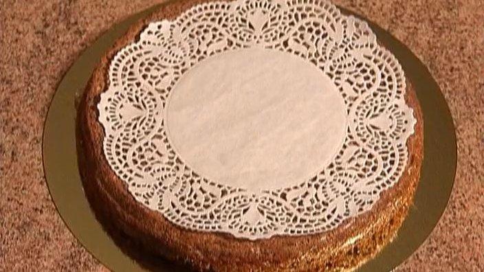 Сельский маковый торт