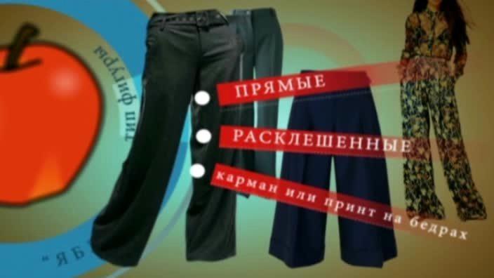 Выбор брюк по фигуре