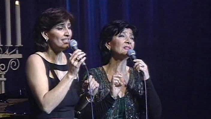 Нани Брегвадзе и ее дочь Эка Мамаладзе