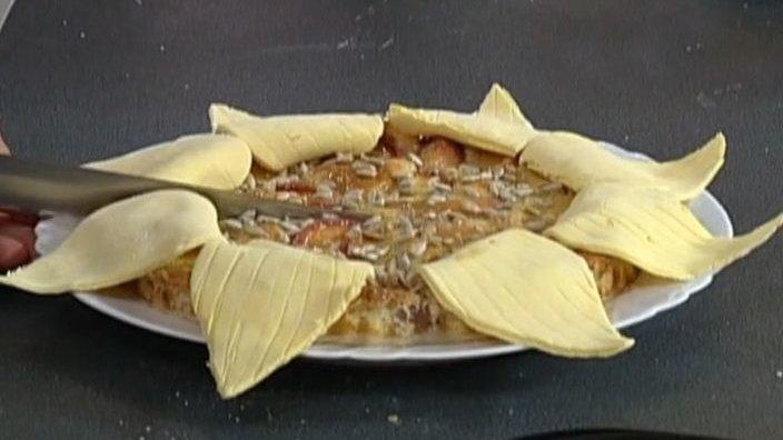 Пирог «Подсолнечник»