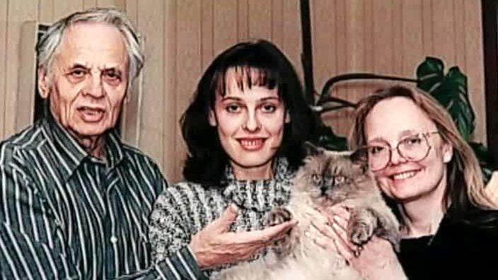 Наталья Белохвостикова и ее дочь Наталья Наумова