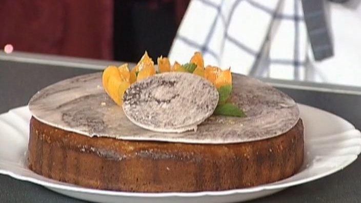 Турецкий торт с абрикосами