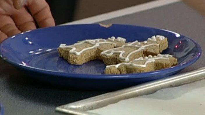 Шоколадно-апельсиновое и золотое имбирное печенье