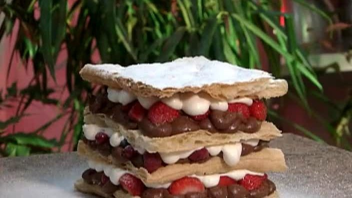 Торт «Тысяча лепестков»